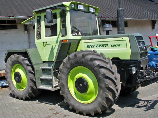 fahrzeugseiten traktoren mercedes benz mb trac 1500. Black Bedroom Furniture Sets. Home Design Ideas